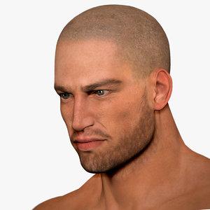3d model man oliver
