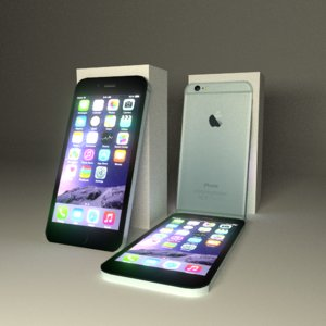 apple iphone 6 3d model