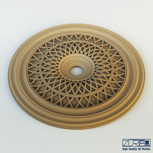 3d model of peterhof rosette r73