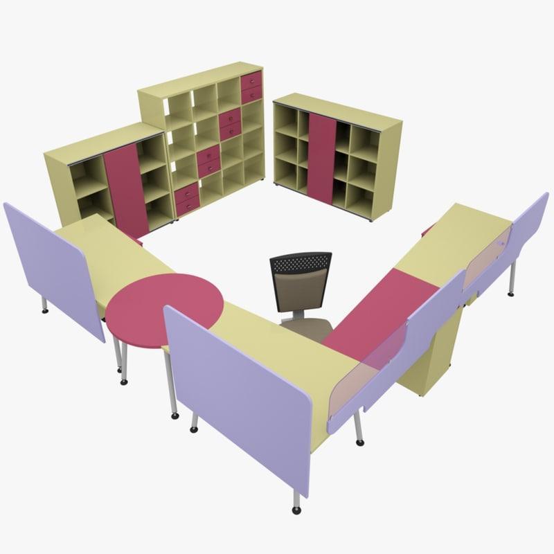 rack office table ma
