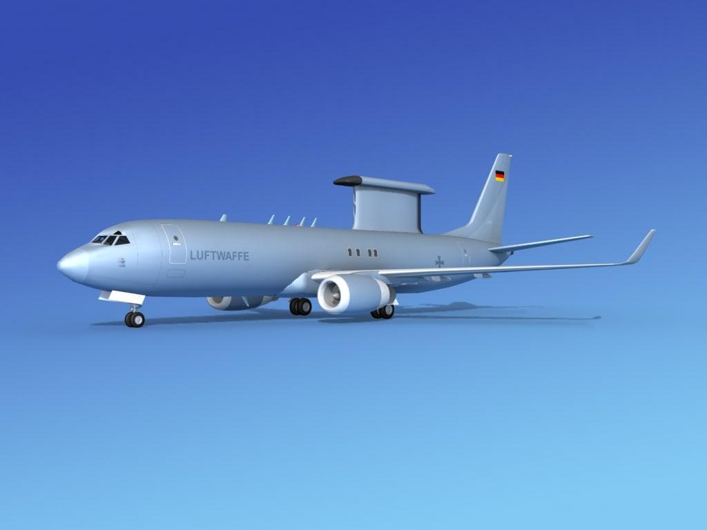 3d 3ds aircraft boeing
