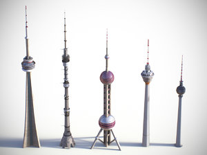 3d towers 1