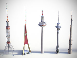 max low-poly towers 2
