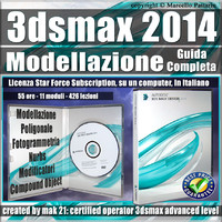 3ds max 2014 Modellazione Guida Completa 3 mesi Subscription 1 Computer