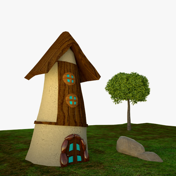 3dsmax small home