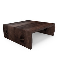 max hudson miter coffee table