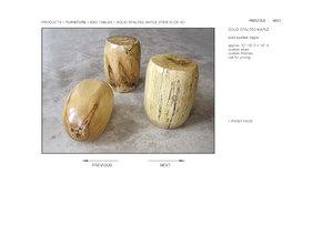 hudson solid spalted maple 3d model