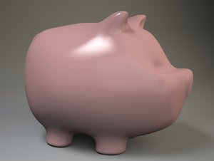 3ds max piggy bank