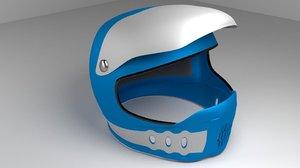 3d motorcycle helmet model