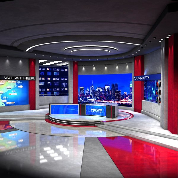 maya european news studio