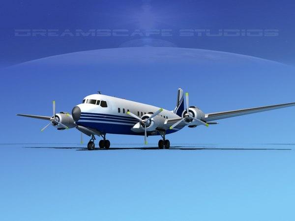 3ds propellers douglas dc-7 dc-7b