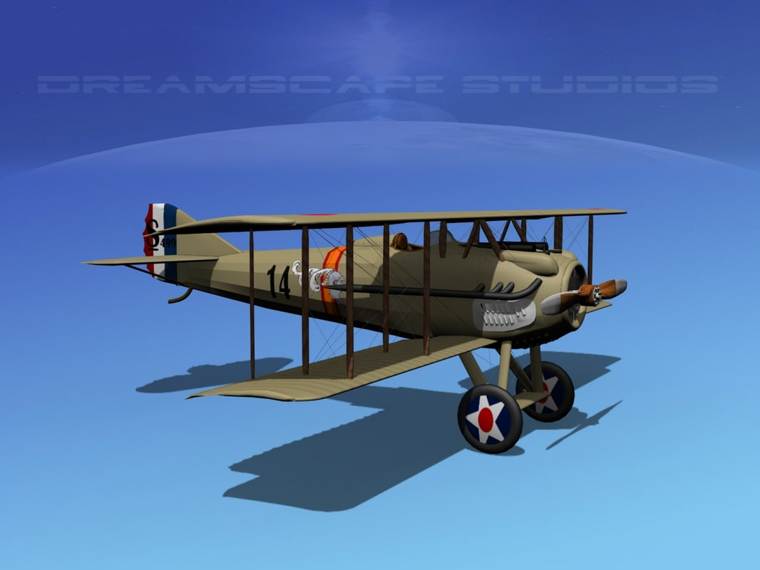 dxf spad xiii xii fighters