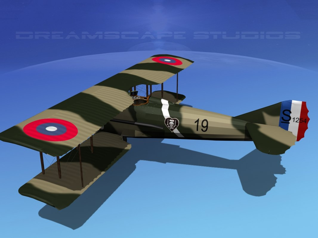 3d spad xiii xii fighters