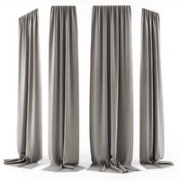 3d curtain long model