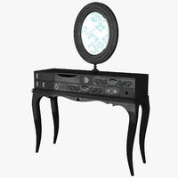 3d prodotti dressing table