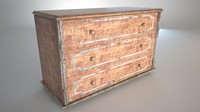 old chest fbx