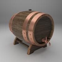wooden barrels max