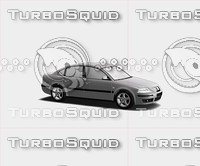 Sedan car all generic parts