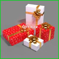 gift box 3d max