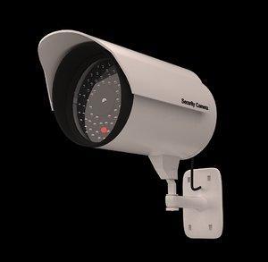 3d security cam model