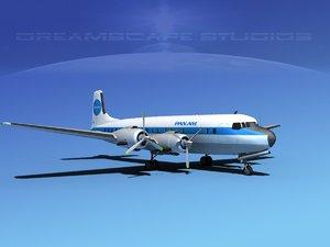 propellers douglas dc-7 american max