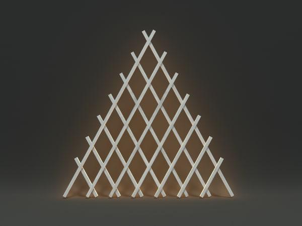 3dsmax wooden decoration