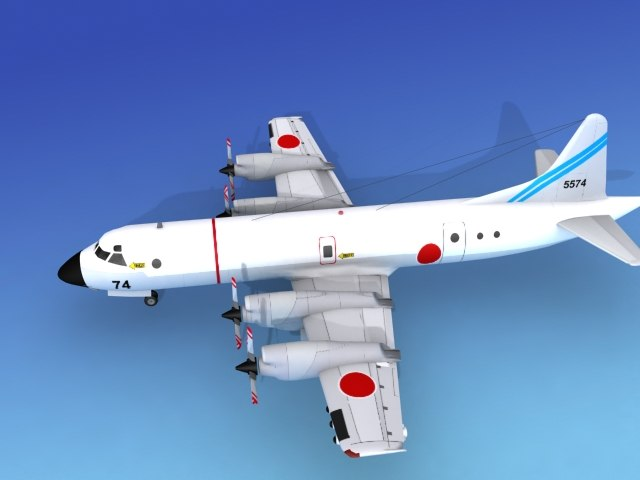 3d orion lockheed p-3