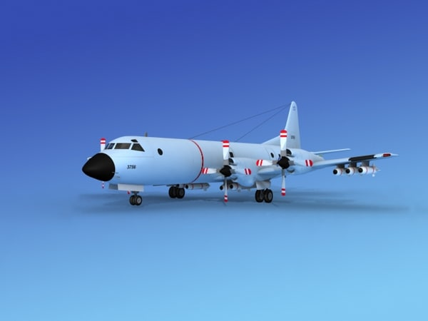 3d max orion lockheed p-3