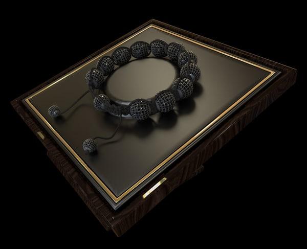 3d model shamballa bracelet