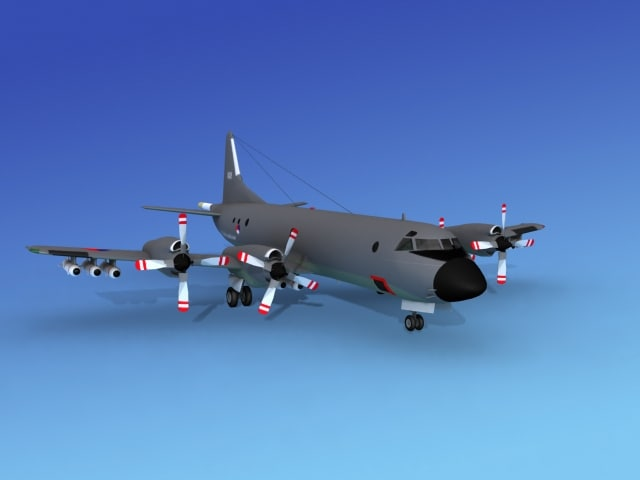 orion lockheed p-3 dxf