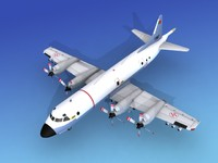 orion lockheed p-3 3d dxf