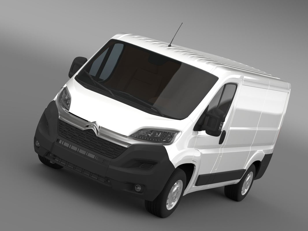 citroen jumper van l1h1 3d model