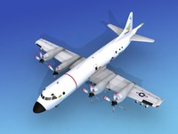 orion lockheed p-3 navy 3d model