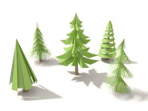 3d pinetree