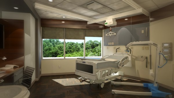3d model 260 patient room lift