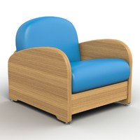 max chair plastic wooden