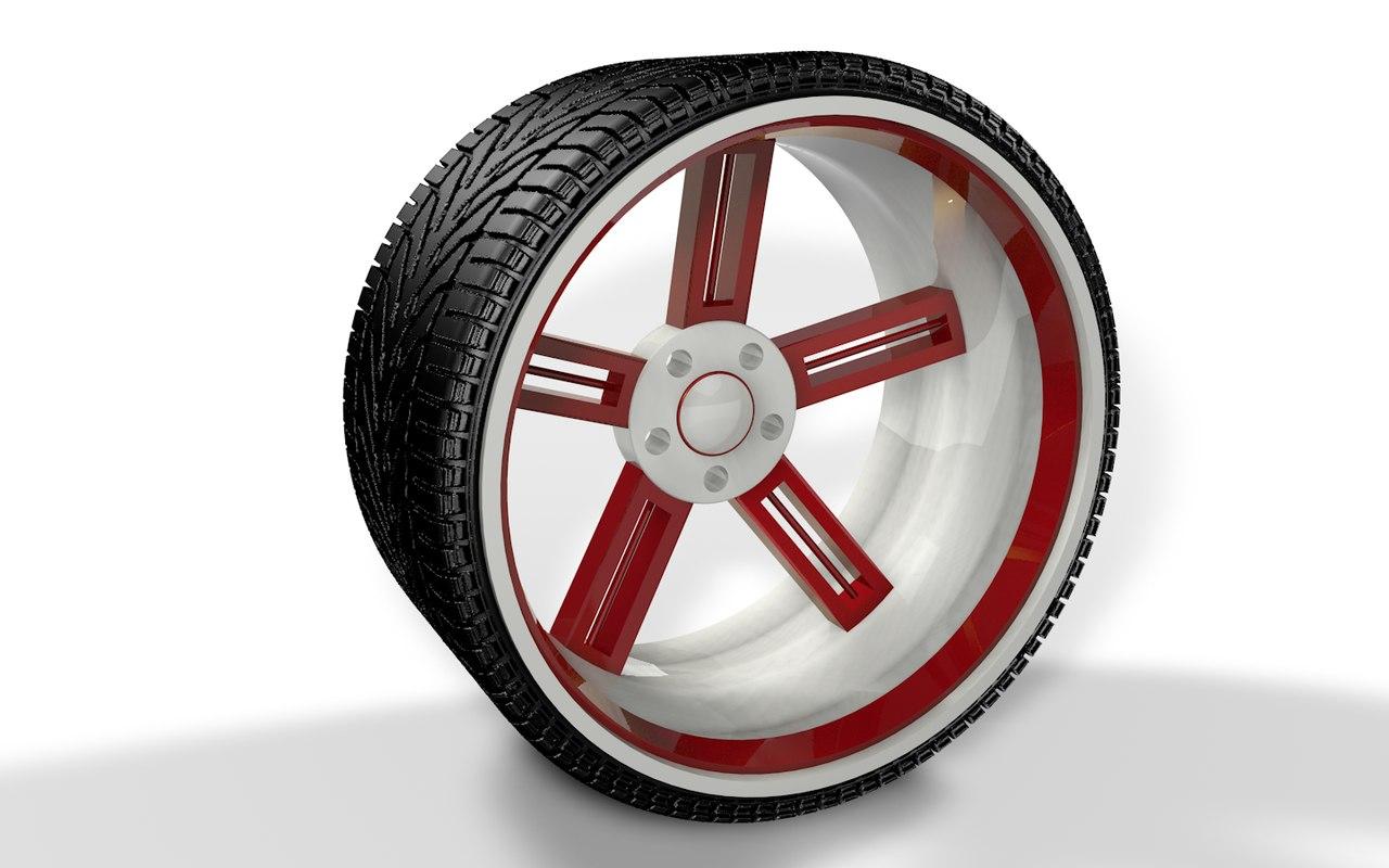 3d jdm wheel