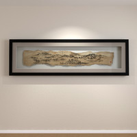 Ancient Scroll Shadow Box