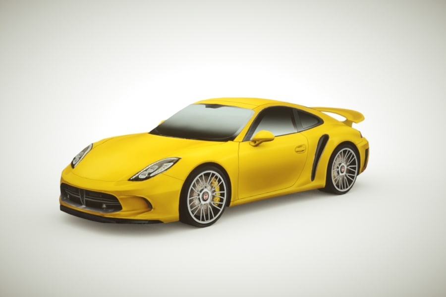 generic supercars colors car 3d 3ds