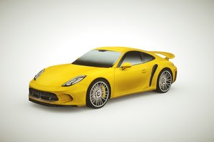 generic supercars colors car 3d 3ds
