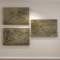 Wood Cut Art Panels