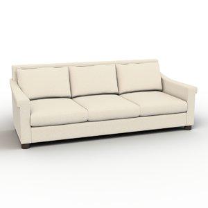 sofa roosevelt 3d max