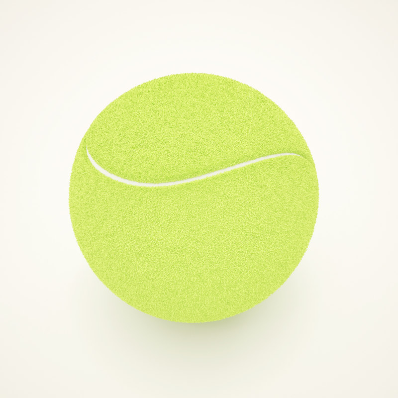 3ds max ball tennis