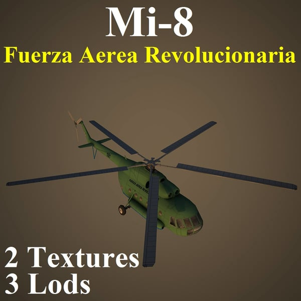 3d mil far helicopter