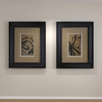 3d framed art distressed wood