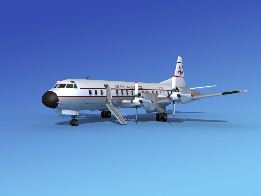 propellers electra lockheed max