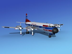 3d max propellers electra lockheed