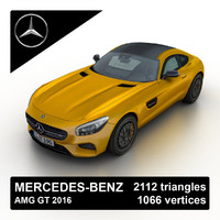2016 mercedes-benz amg gt 3d 3ds