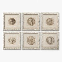 eichholtz print antique coins 3d max