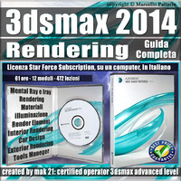 3ds max 2014 Rendering Guida Completa  3 mesi Subscription 1 Computer